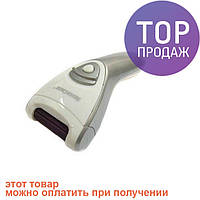 Роликовая пилка Silver Crest SHE 3 A1 Silver /  машинка для педикюра