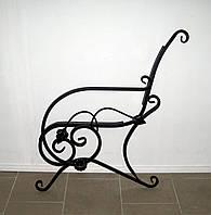 Боковины для лавочки (скамейки) черные, фото 1