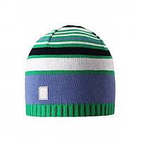 Демисезонная шапка для мальчика Reima 528510-880A. Размеры  50-56.