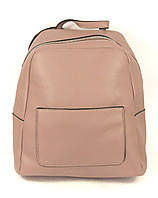 Рюкзак розовый женский эко-кожа, фото 1