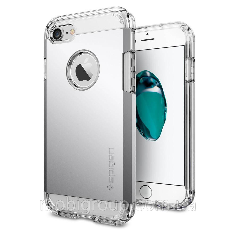 Чехол Spigen для iPhone 7 Tough Armor, Satin Silver
