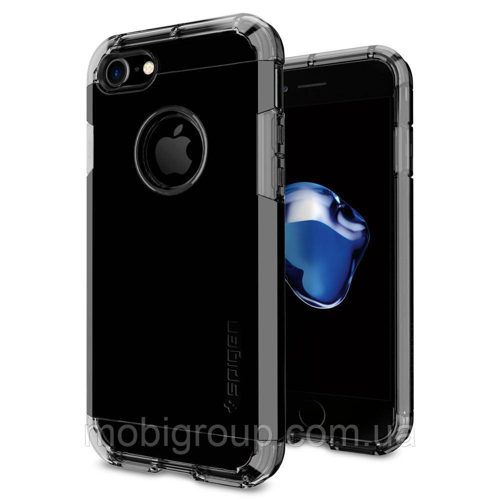 Чехол Spigen для iPhone 7 Tough Armor, Jet Black, фото 1