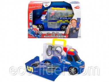 """Автомобиль """"Полиция"""" с набором полицейского, звук. и свет. эффектами, 33 см, 3+"""