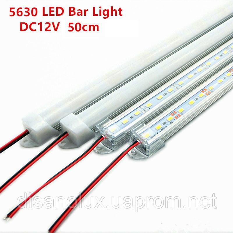 Светодиодный светильник 50 см 36LED, 7,2W,12V 6500K