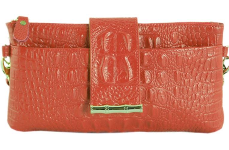 485956c6e6ea Женская клатч из эко кожи TRAUM 7311-16 оранжевый — только ...