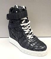 Ботинки сникерсы женские кожаные осень-весна/зима разные цвета 0019АВМ