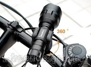 Велосипедный держатель, зажим, крепеж фонарика, фото 2