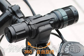 Велосипедный держатель, крепление, зажим фонарика, фото 3