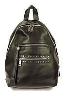 Женский рюкзак с мягкими лямками черный, фото 1