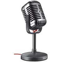 Настольный микрофон trust elvii desktop microphone (20111)