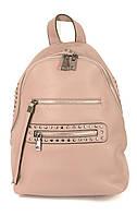 Женский рюкзак с мягкими лямками розовый