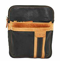 Мужская сумка-планшет  VATTO Mk-54Kr670.190 черная с рыжим