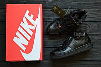 Кроссовки  Air Force 1 Mid All Black