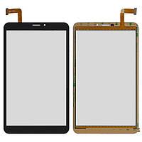 """Сенсорный экран (touchscreen) для Bravis NB85 3G IPS, 7.0"""", 120-204 мм, 50 pin, емкостный, черный, оригинал"""