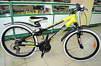 """Велосипед Cronus Best Mate 24"""" желтый"""