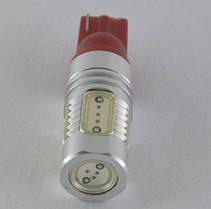 Светодиодная лампа  с цоколем T10/T15(W5W/W16W) COB-7.5W-Красный, фото 2
