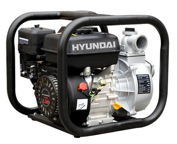 Бензиновая мотопомпа для воды с ручным запуском Hyundai HY 50