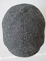 Кепка восьмиклинка серого цвета., фото 1