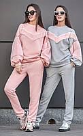 Женский теплый спортивный костюм с меховыми вставками Feieria (разные цвета)