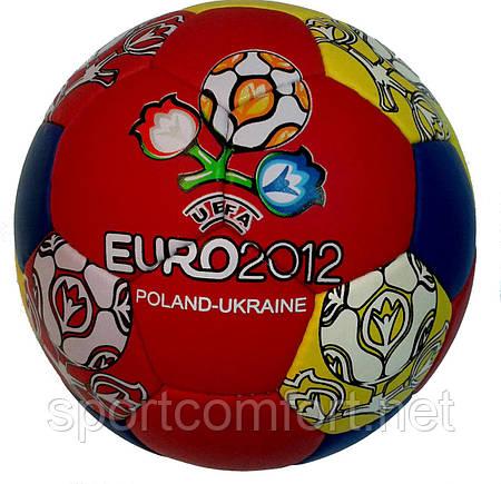 Мяч футбольный №5 Euro 2012 ПВХ (футбольний м'яч)