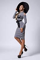 Платье мод №301-1, размеры 44,46,48 темно-синее