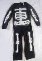 Карнавальный костюм  Скелет 6-7 лет