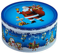 """Подарок """"Мультяшка 3XL"""" в большом жестяном тубусе Дед Мороз, 510г"""