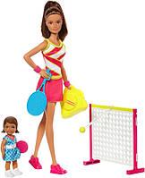 Barbie Барби из серии Я могу быть тренер по теннису Careers Tennis Coach Playset