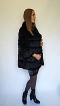 Женская короткая шуба из кролика , фото 3