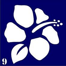 "Трафарет для био-тату № 9 ""Цветочек"""