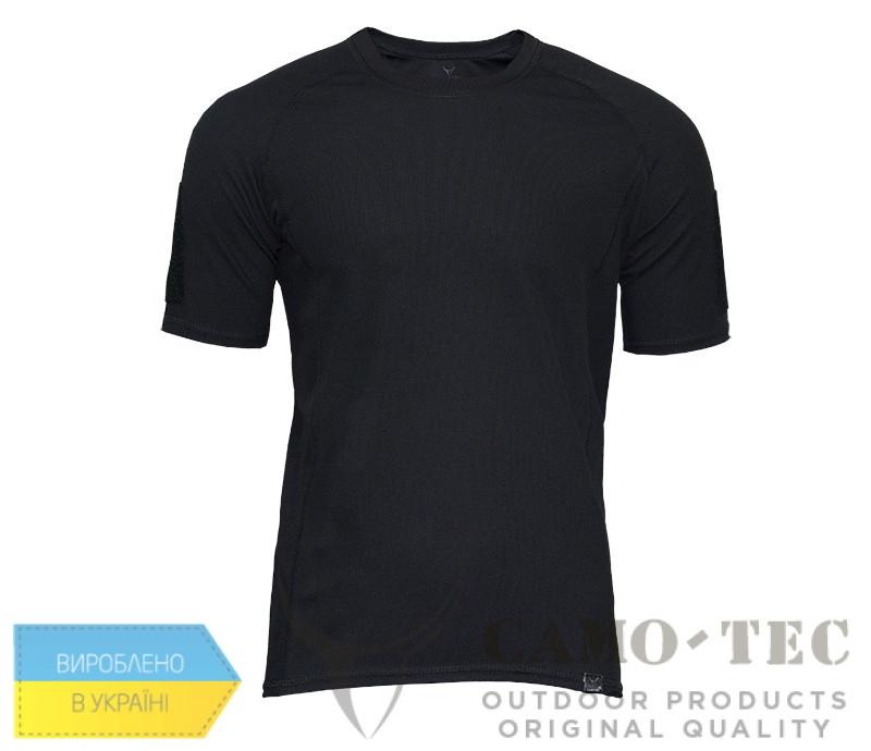 Термофутболка Camo-Tec Velcro CoolPass - Черная