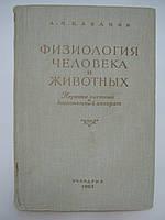 Кабанов А.Н. Физиология человека и животных. Нервная система и двигательный аппарат (б/у).