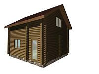 Проект С-6(дом дачный 5*6)