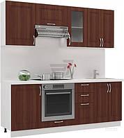 Кухня модульная 2,1 метра классика (кориандр)