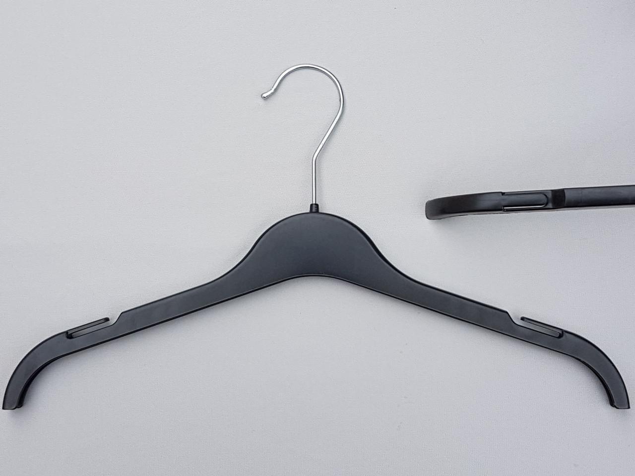 Длина 37 см. Плечики детские пластмассовые ВТ37 черные