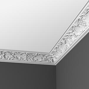 Плинтус потолочный с орнаментом