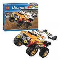 Конструктор Bela серия Urban 10645 Внедорожник каскадера (аналог Lego City 60146)