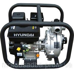 Бензиновая мотопомпа с ручным запуском Hyundai HYH 50