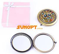 Косметическое Зеркальце в подарочной упаковке (Испания) №7006-9-4