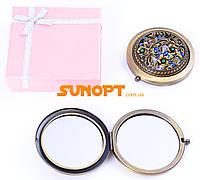 Косметическое Зеркальце в подарочной упаковке (Испания) №7006-9-6