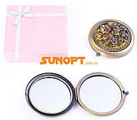 Косметическое Зеркальце в подарочной упаковке (Испания) №7006-9-8