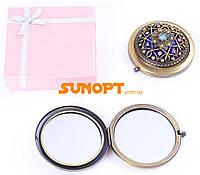 Косметическое Зеркальце в подарочной упаковке (Испания) №7006-9-10