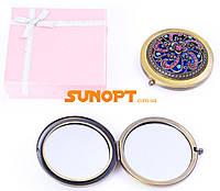 Косметическое Зеркальце в подарочной упаковке (Испания) №7006-9-11