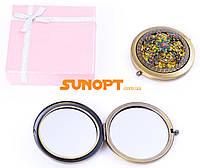 Косметическое Зеркальце в подарочной упаковке (Испания) №7006-9-12