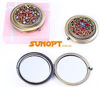 Косметическое Зеркальце в подарочной упаковке (Испания) №7006-9-18