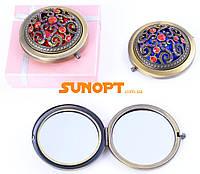 Косметическое Зеркальце в подарочной упаковке (Испания) №7006-9-21