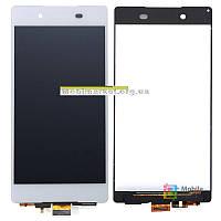 Модуль (дисплей + сенсор) для Sony E6533 Xperia Z3+ DS, E6553 Xperia Z3+, Xperia Z4 original білий