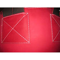 Боксерский мешок SPURT 160х40 кожа RED 2,2-3,0 мм., фото 3