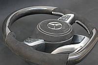 Руль G55 G63 G65 G500 G800 G900 gclass w463 Карбон Carbon, фото 1