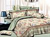 Двуспальный комплект постельного белья евро 200*220 хлопок  (8275) TM KRISPOL Украина